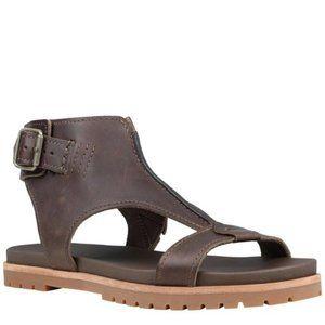 TIMBERLAND Natoma Ankle Strap Leather Sandal